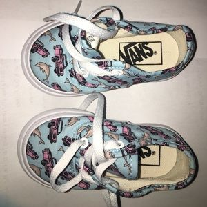 Excellent condition barely used Vans